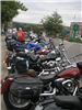 A look at some of the motorcycles parked along Beacon Street, 2010
