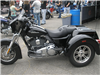 One of the motorcycles for sale at Harleys set up, 2010