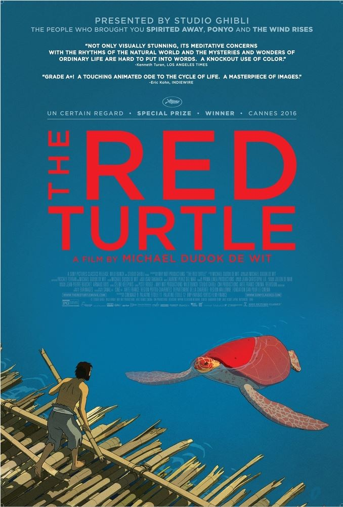red turtle movie poster
