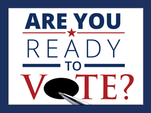 Are you ready to vote?