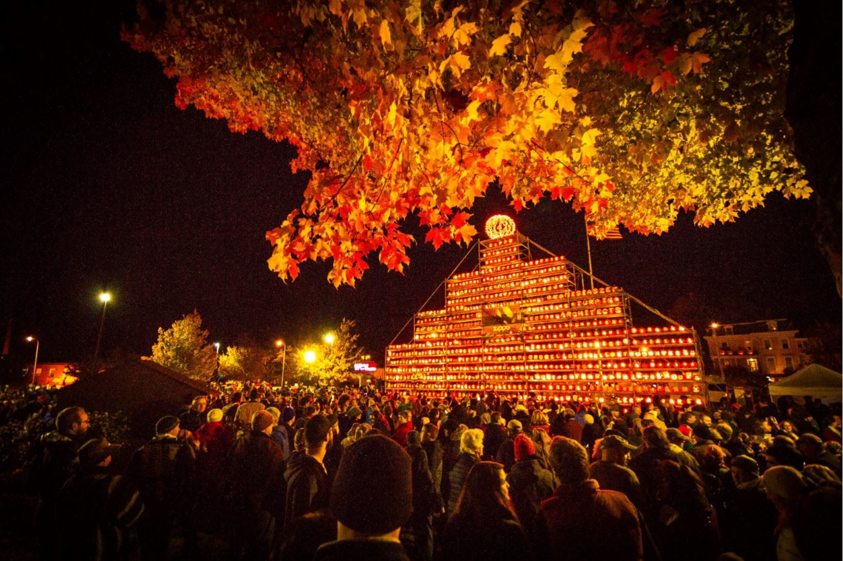 Pumpkin Festival Tower Photo