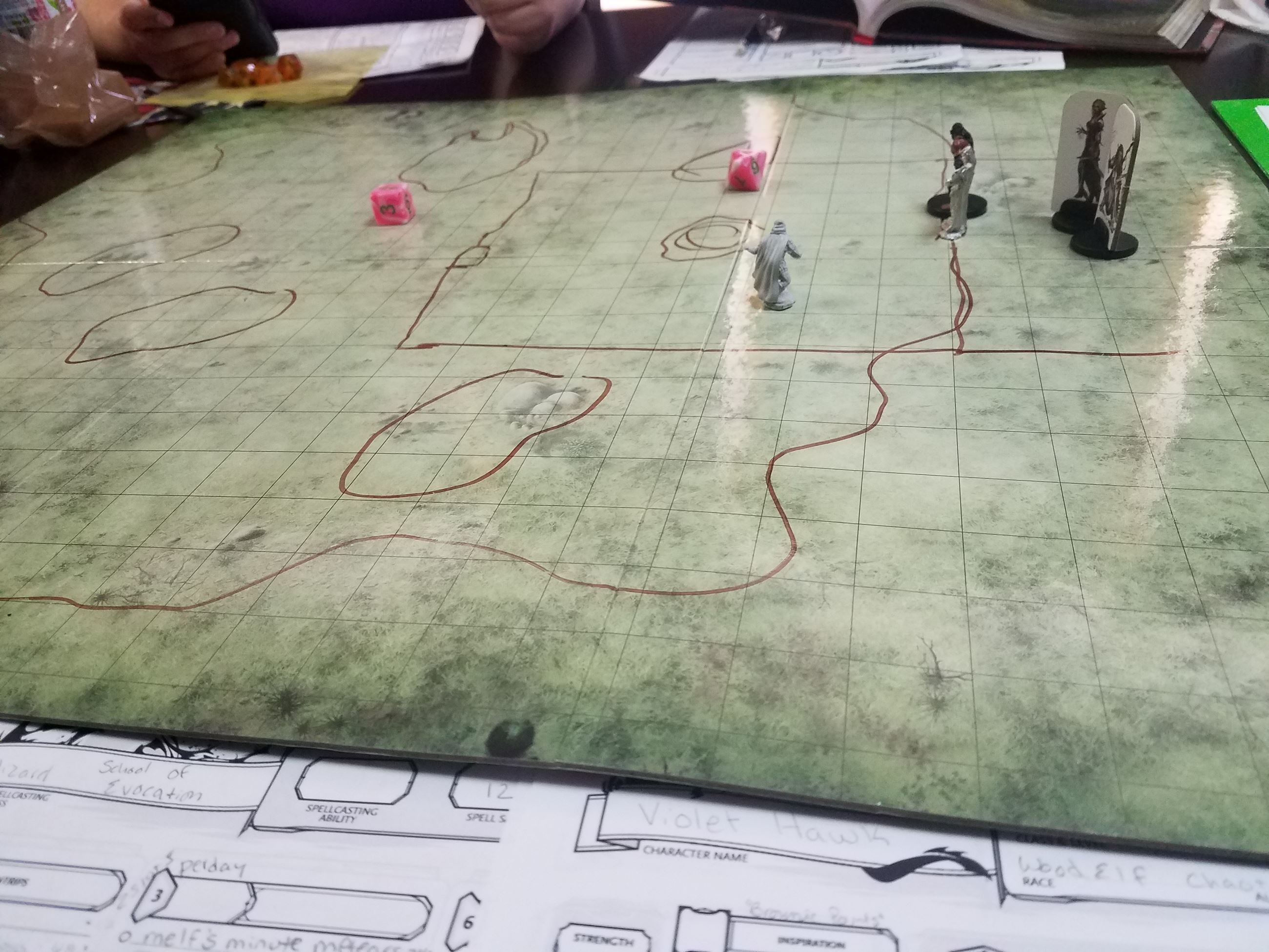 Dungeons & Dragons Game Board