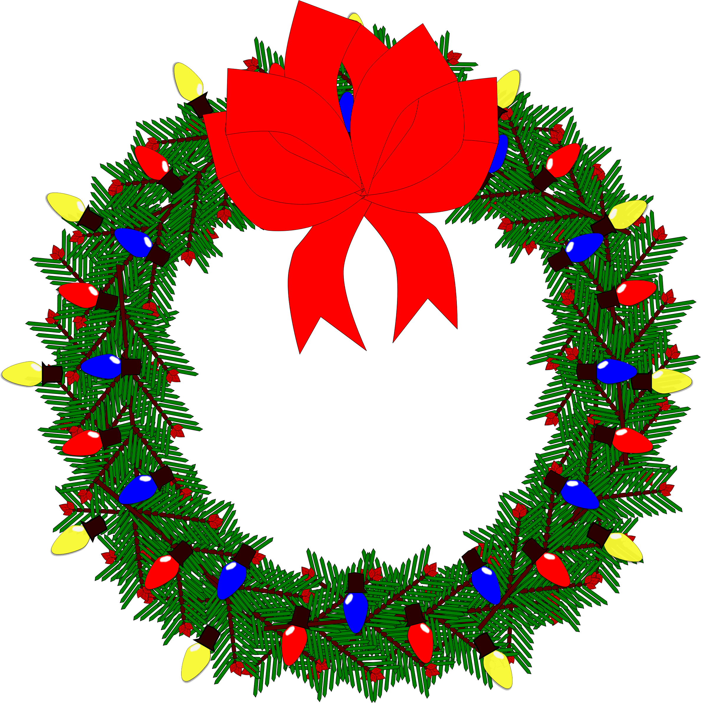 wreath-vector-clipart