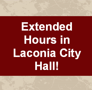 Extended hours in City Hall
