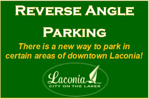 Image Announcing Reverse Angle Parking