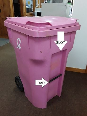 64 Gallon Trash Can