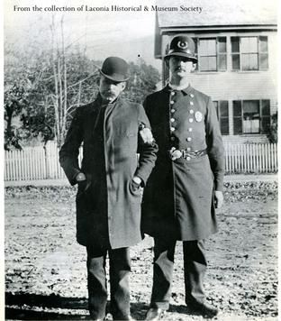 Officer Frank Bailey, circa 1898