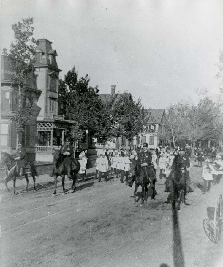 Parade on Church Street, 1895