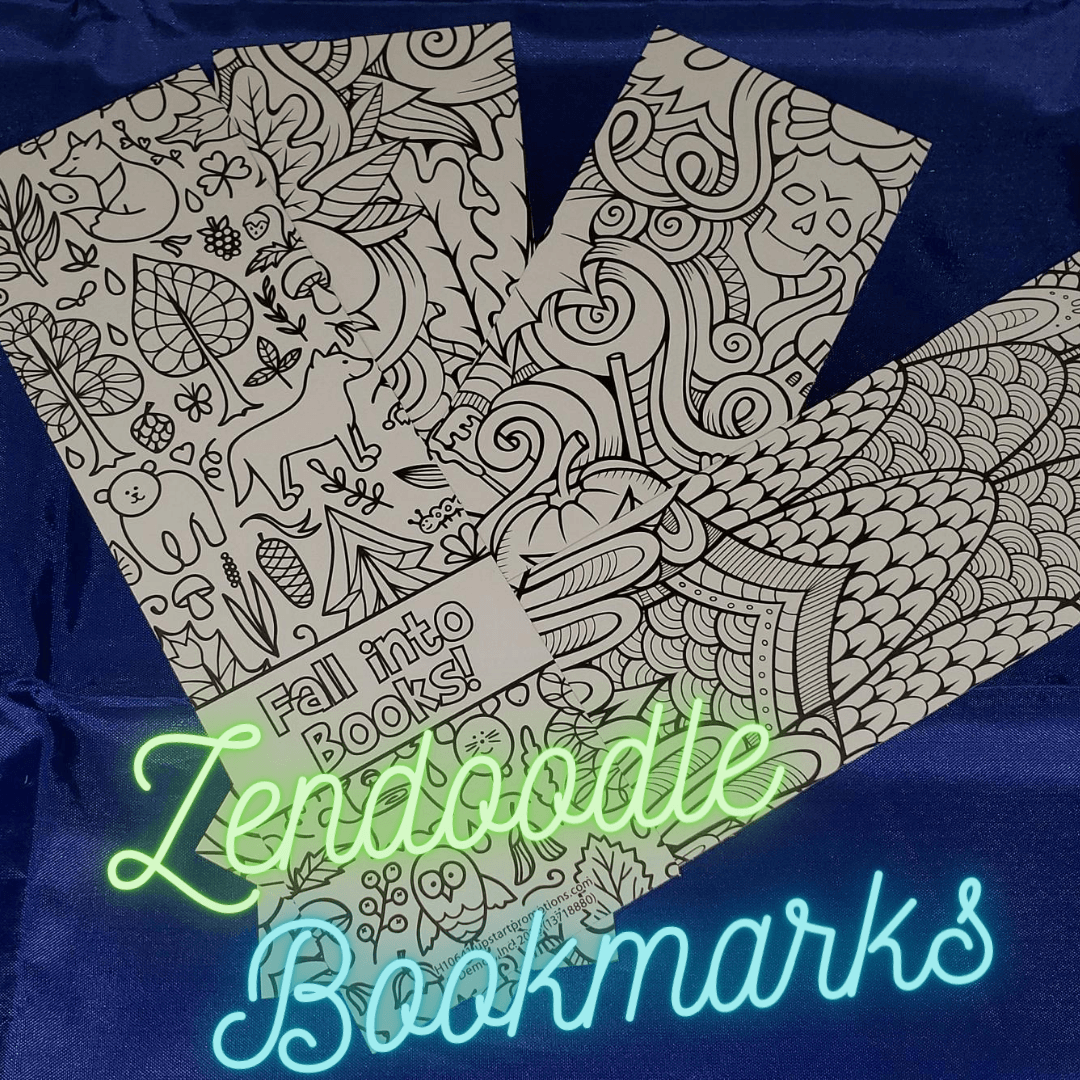 Zendoodle Bookmarks