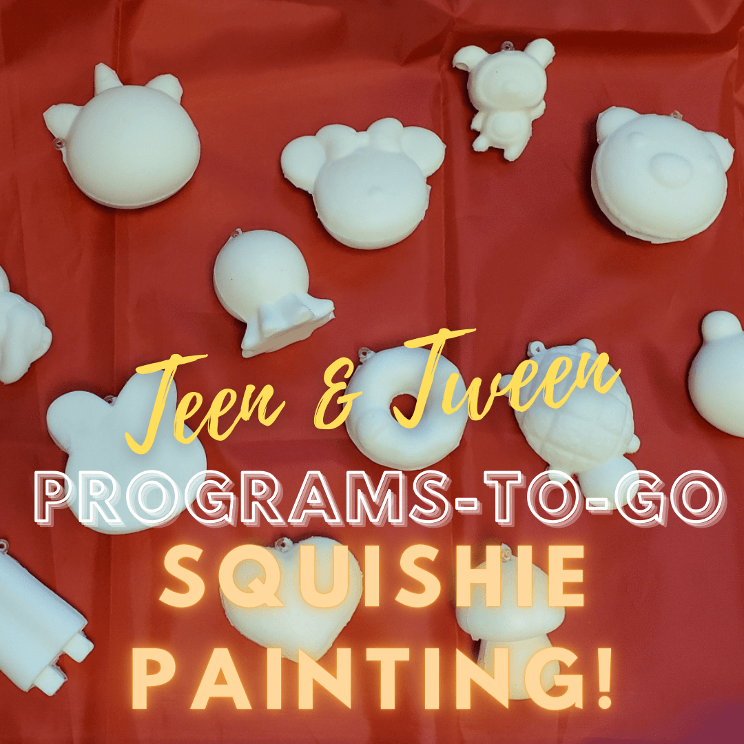 Teen Tween squishie painting
