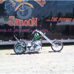 A chopper from Full Throttle Magazine taken at the Broken Spokes site, June, 2010