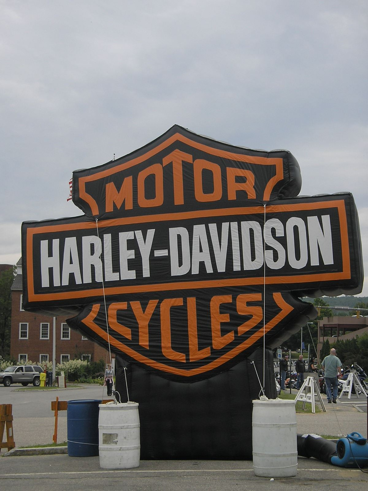 Harleys 2010 inflatable sign