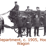 1905 Fire Department Hook and Ladder Wagon