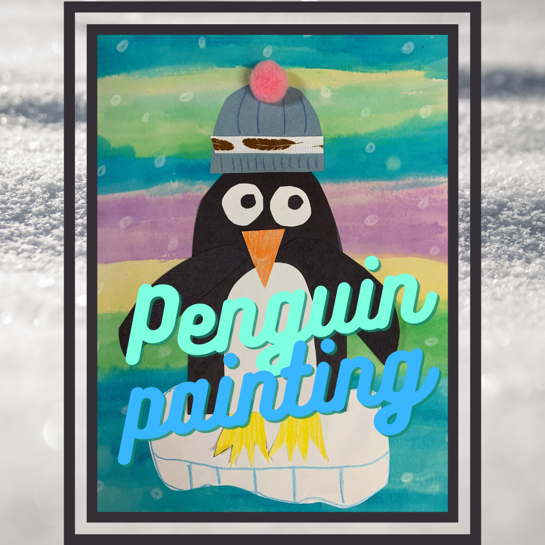 Family Craft: Penguin Painting