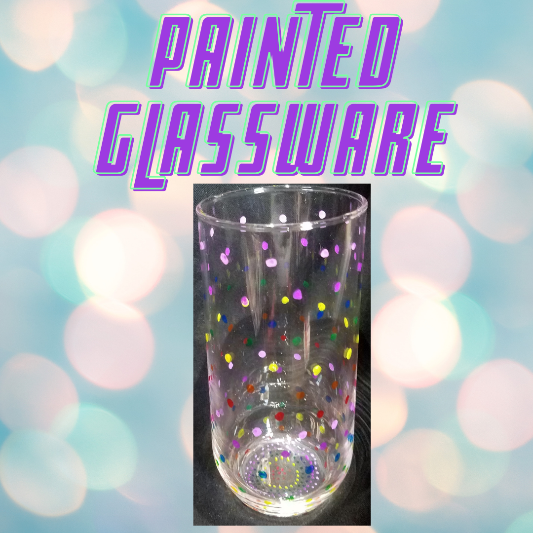 Painted Glassware